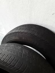 Dois pneus 14 175/70 pirelli cinturado 135 os dois