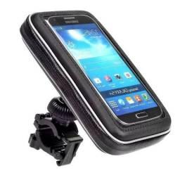 Suporte De Smartphone Impermeável Para Moto E Bicicleta