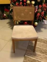 Lindas cadeiras para mesa de jantar