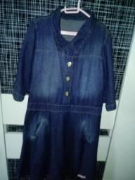 Vestido maravilhoso jeans Tam m