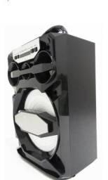 Caixa Mp3 Som Amplificada Portátil Usb Radio Fm MS-219BT