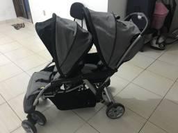 Vendo carrinho de gêmeos Galzerano