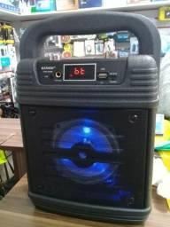 Tenho varias caixas de som amplificada pra vender novas