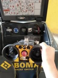 Rolo Compactador com controle Remoto Bomag