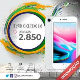 IPHONE 8 256 gigas !!! Lacrado!!! Pronta entrega!!
