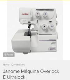 Vendo máquina overlock e ultralock nova