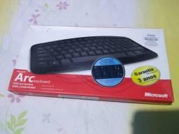 Teclado Microsoft Arc J5D - Sem Fio / Wireless