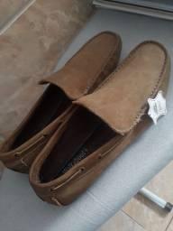 Sapato Mocasim Couro Legítimo TAM: 41