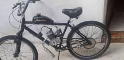 Bicicleta motorizada semi nova ,com nota fiscal