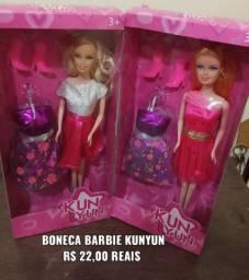 Boneca Barbie KUNYUN C/ Acessórios