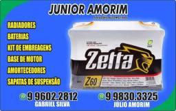 Bateria Classi/Celta/Palio 24 meses de garantia Amortecedor/Kit de embreagem/ Catalisador