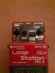 Vendo pedal loop station boss rc2