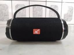 Caixa de Som Bluetooth Sem Fio Portátil Xtrad Xdg-128,cor Preta(Praticamente Nova)