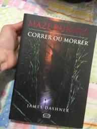 LIVRO: Maze Runner - Correr ou Morrer