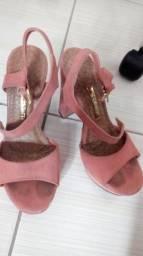 Sandália de salto ViaMarte