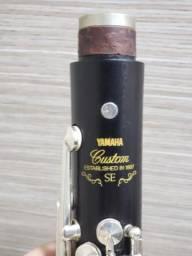 Clarinete Yamaha Custom SE-V YCL 853 IIV Profiss 17 chaves Sib