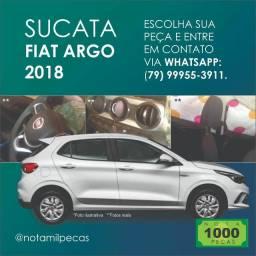 Sucata Fiat Argo 2018