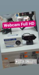 Webcam Full Hd Nova e com Garantia