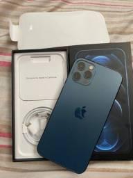 iPhone 12 Pro Max Azul impecável