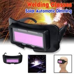 Óculos de Solda Auto Escurecimento Solar Powered WS-100B