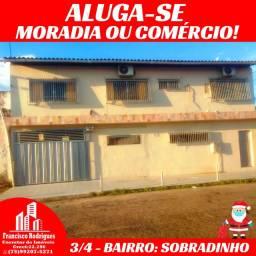 Procurando Casa Com 3/4? Ótima Localização-Moradia ou Comércio-No Sobradinho.