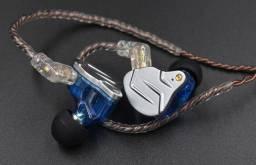 Fone Ouvido Kz Zsn Pro Sem Microfone Intra Auricular