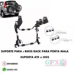 Praticidade: rack para bike ...