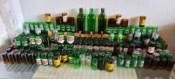 Copos de garrafa personalizado com boca lixada