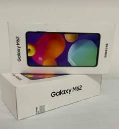 Título do anúncio: Celular Samsung M62 na Caixa Novo