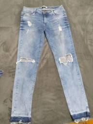 Calça jeans feminina 42