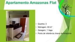 apartamento amazonas flat - R$ 235 mil