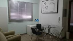 Apartamento para alugar com 1 dormitórios em Funcionários, Belo horizonte cod:ALM1329