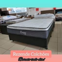 Título do anúncio: Cama Box + Colchão Evoque Casal 138x188