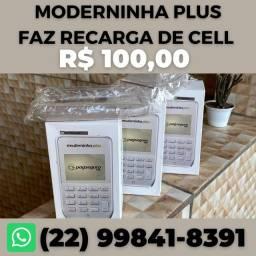 Título do anúncio: Maquininha Moderninha PLUS PagSeguro PagBank