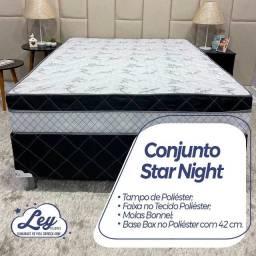 Título do anúncio: Conjunto Box Star Night Casal / - Entrega Gratis