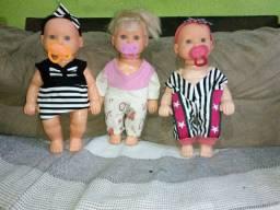 03 bonecas original por apenas R$ 19,90!