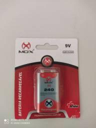 Bateria 9v recarregável