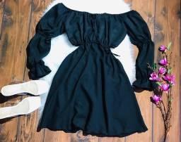 Cropped e short / vestido