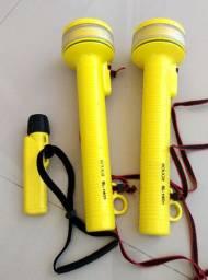 Kit lanternas de mergulho