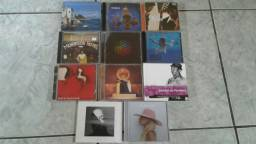Cd's de música pop rock mpb originais nacional e internacional variados