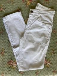 Calça sarja branca