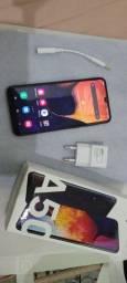 Título do anúncio: Celular Samsung Galaxy A50 - Roda todos os aplicativos, possui TV integrada