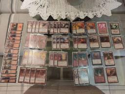 Cartas de Magic - Deck vermelho