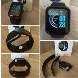Relógio Smartwatch y68 D20 pro Pulseira Inteligente compatível para Android/IOS