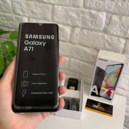 Samsung Galaxy A71 128GB, Novo (Sem uso), Nota Fiscal e Garantia Samsung