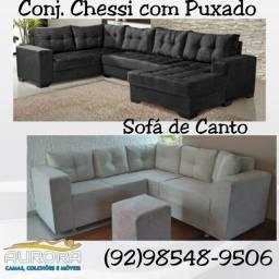 Título do anúncio: sofá cheesi simples a ponto entrega !!!