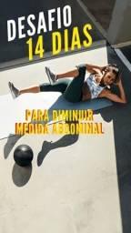 Título do anúncio: Desafio 14 dias para perder o maior número de medida abdominal