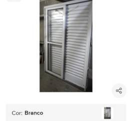 Título do anúncio: Porta Balcão e Janela em aço R$ 1.500,00 (as duas)