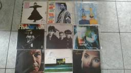 Lp's discos de vinil pop rock jazz New Age internacional variados veja