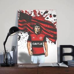 Título do anúncio: Quadro Decorativo/Placa Decorativa - Flamengo Zico 30x42